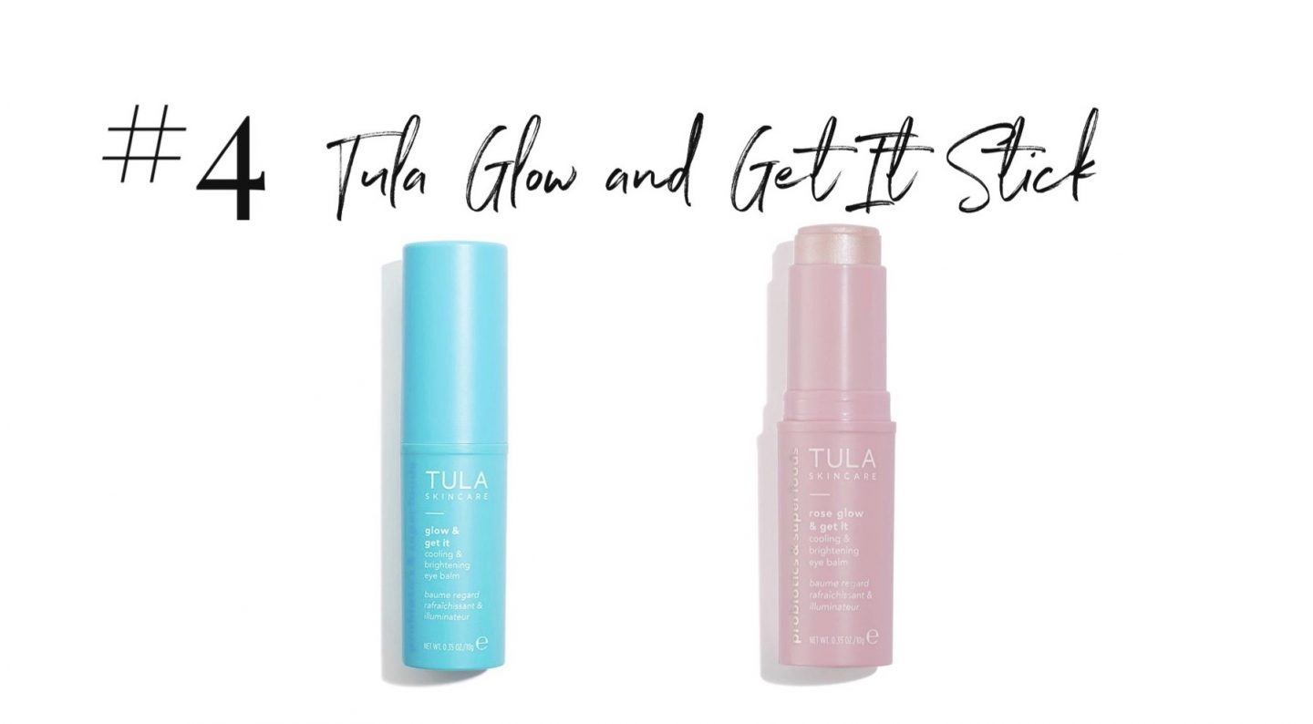 best 2019 purchases featured by top San Diego life and style blog, Navy Grace: Tula Glow and Get it Stick | 2019 Favorite Products by popular San Diego life and style blog, Navy Grace: image of a Tula Glow and Get it stick.
