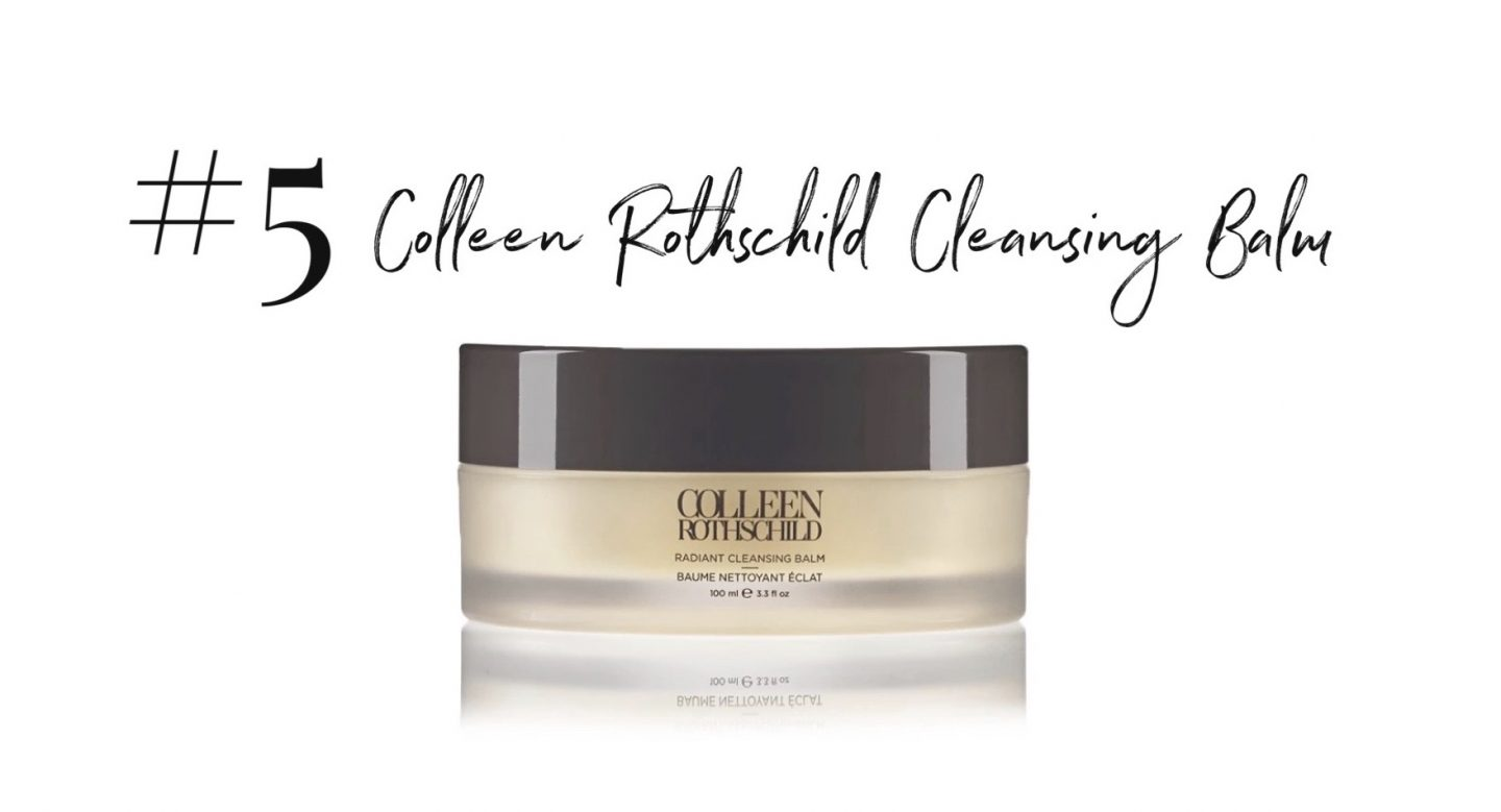 best 2019 purchases featured by top San Diego life and style blog, Navy Grace: Colleen Rothschild Cleansing Balm | 2019 Favorite Products by popular San Diego life and style blog, Navy Grace: image of a Colleen Rothschild cleansing balm.