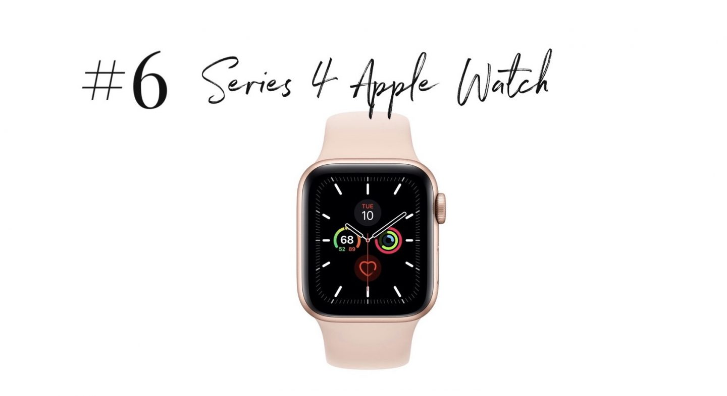 best 2019 purchases featured by top San Diego life and style blog, Navy Grace: Series 4 Apple Watch | 2019 Favorite Products by popular San Diego life and style blog, Navy Grace: image of a Apple Watch.