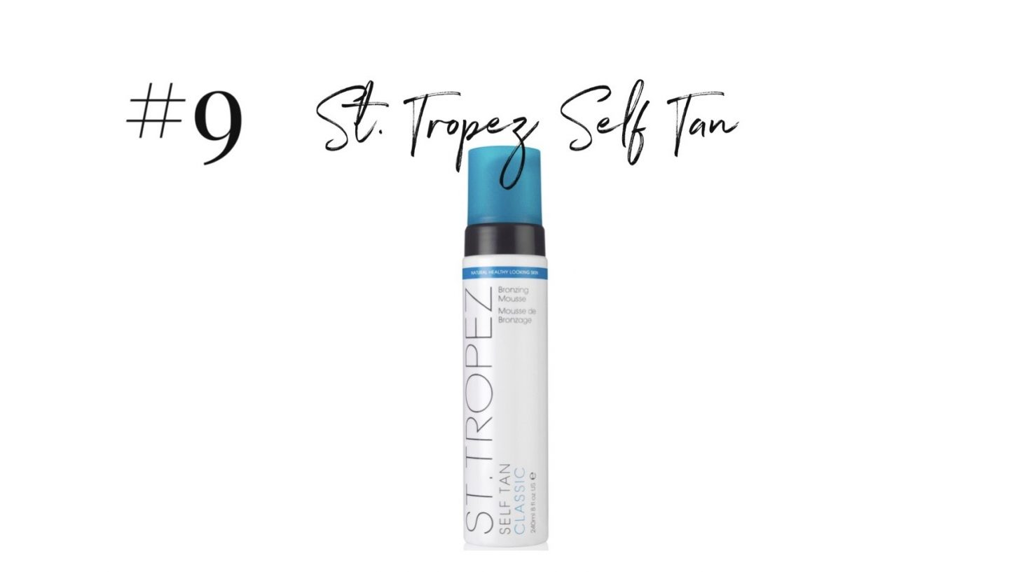 best 2019 purchases featured by top San Diego life and style blog, Navy Grace: St Tropez Self Tan | 2019 Favorite Products by popular San Diego life and style blog, Navy Grace: image of St. Tropez self tan.