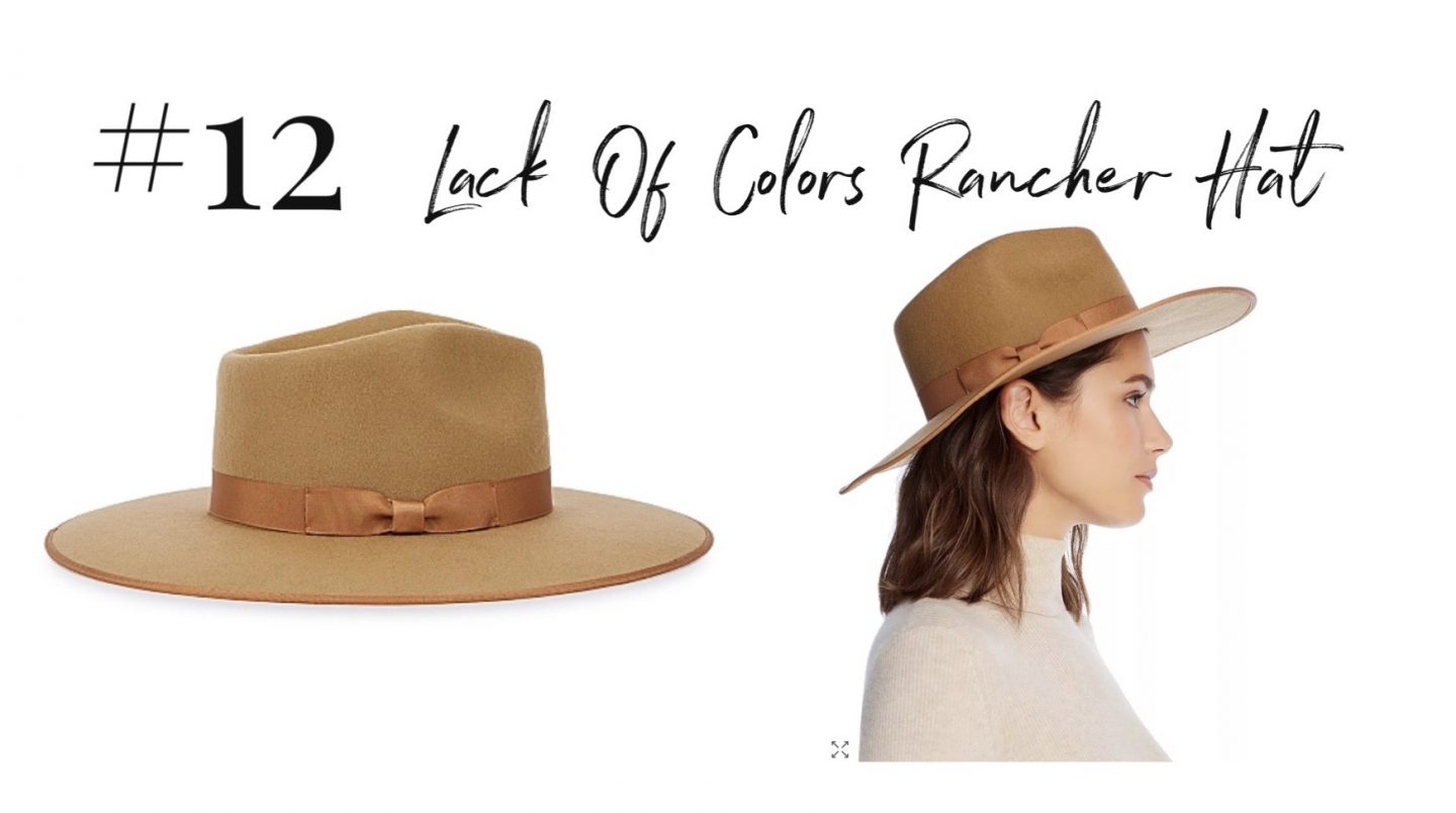 best 2019 purchases featured by top San Diego life and style blog, Navy Grace: lack of colors rancher hat | 2019 Favorite Products by popular San Diego life and style blog, Navy Grace: image of a Lack of Colors Rancher hat.