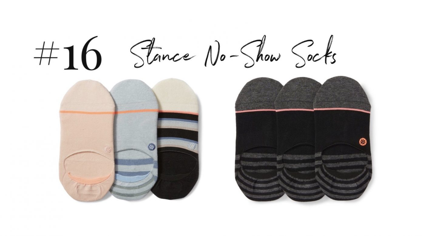 best 2019 purchases featured by top San Diego life and style blog, Navy Grace: stance no show socks | 2019 Favorite Products by popular San Diego life and style blog, Navy Grace: image of Stance no-show-socks.