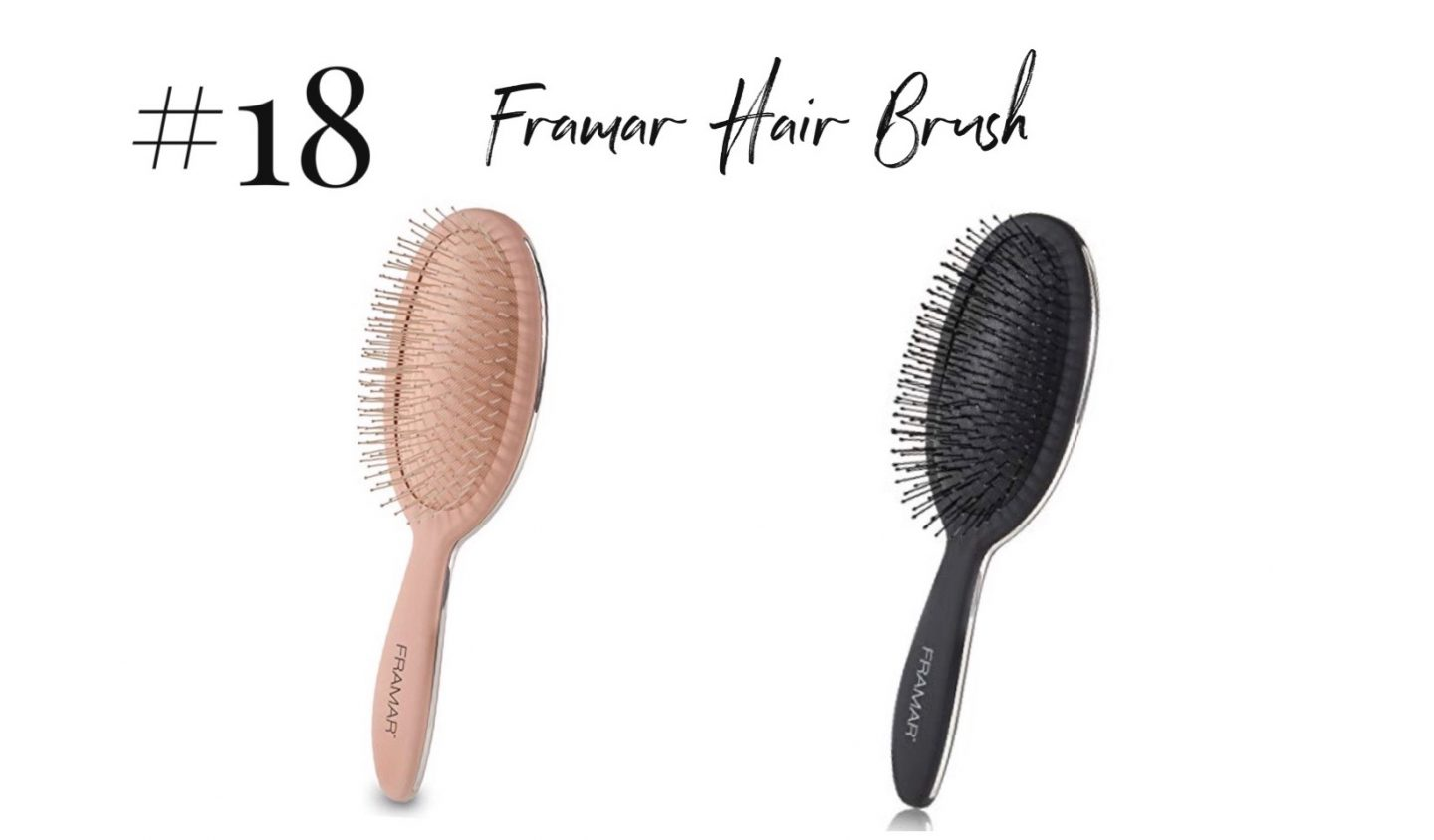 best 2019 purchases featured by top San Diego life and style blog, Navy Grace: Framar hair brush | 2019 Favorite Products by popular San Diego life and style blog, Navy Grace: image of a Framar hair brush.