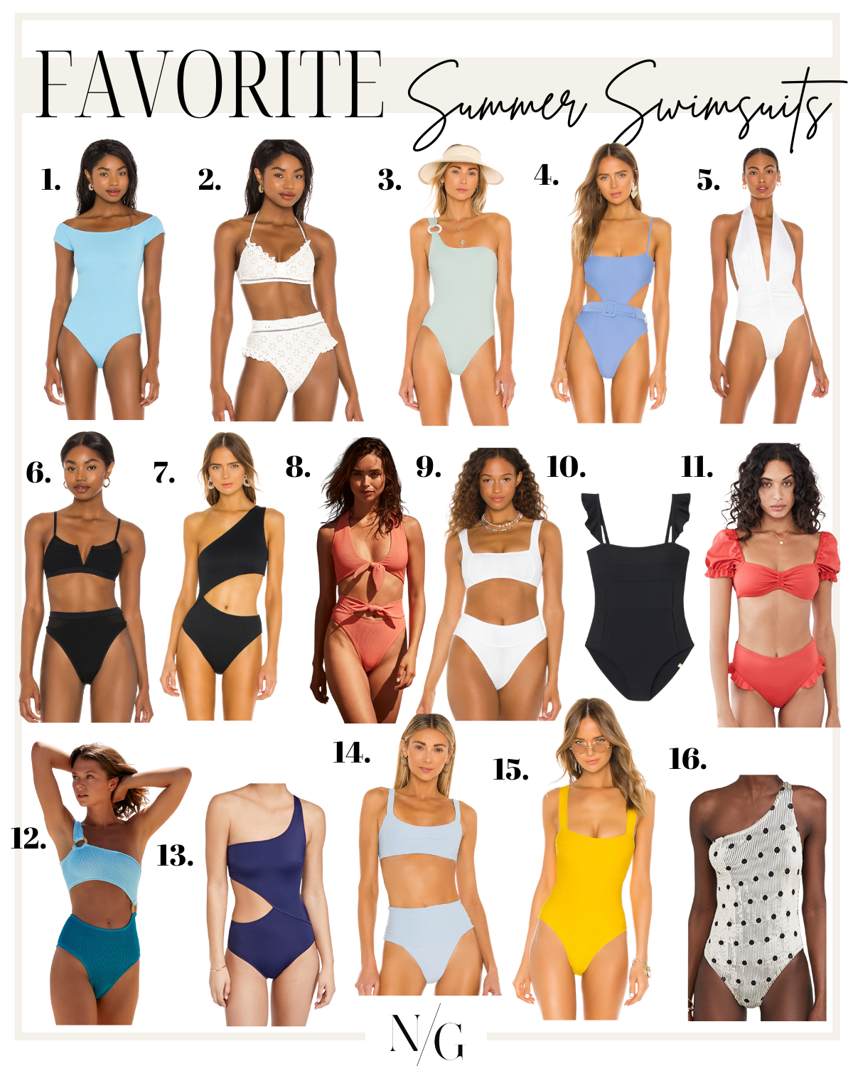 MUST HAVE SUMMER SWIMSUITS