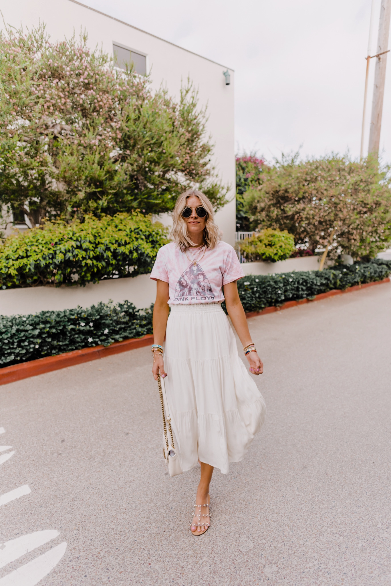 25 CUTE MIDI SKIRTS AND DRESSES featured by top San Diego fashion blogger, Navy Grace: image of a woman wearing Wilt Long skirt available at ShopBop