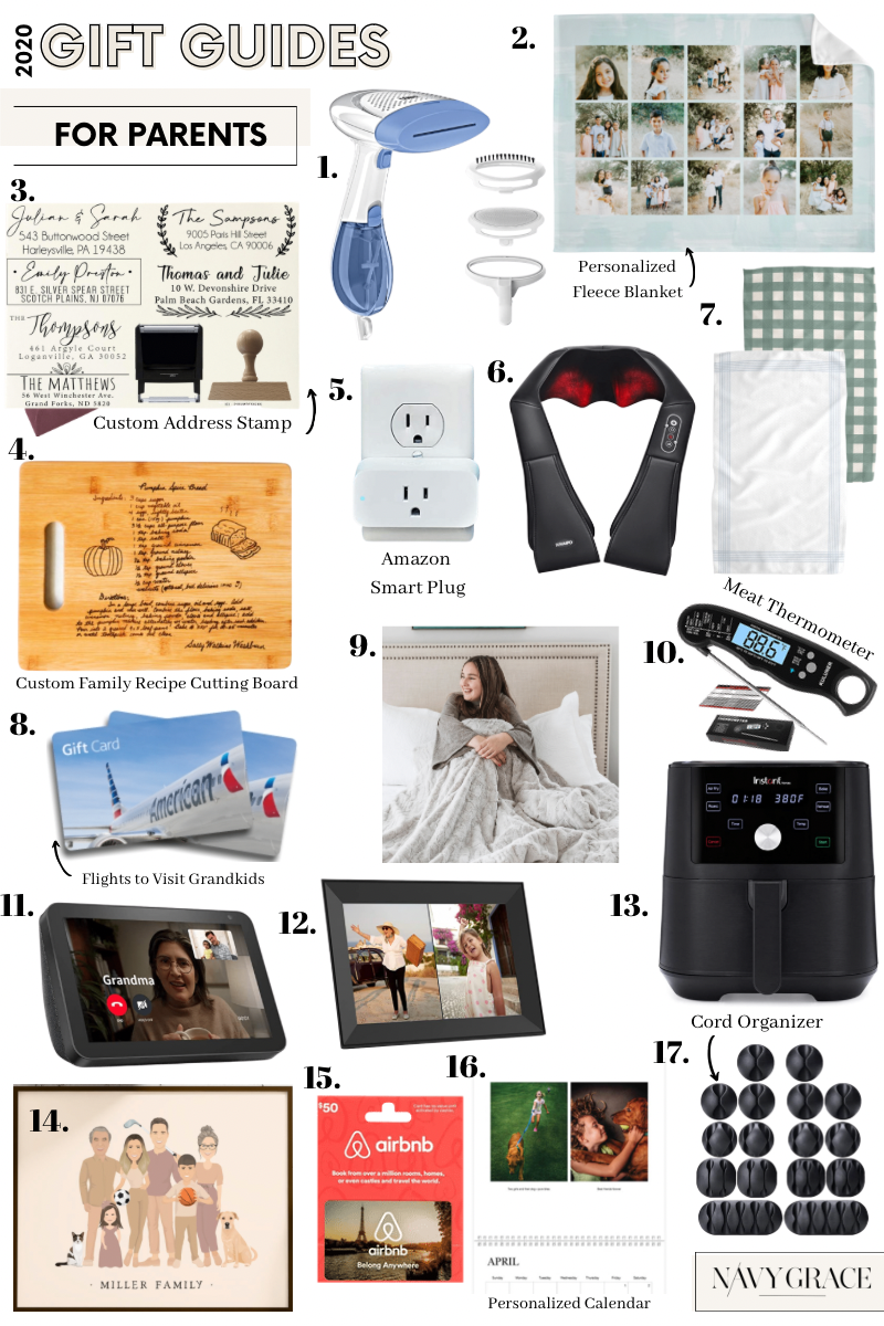 WHAT TO GET PARENTS AND IN LAWS FOR CHRISTMAS? 17 UNIQUE GIFT IDEAS THEY'LL LOVE featured by top San Diego lifestyle blogger, Navy Grace