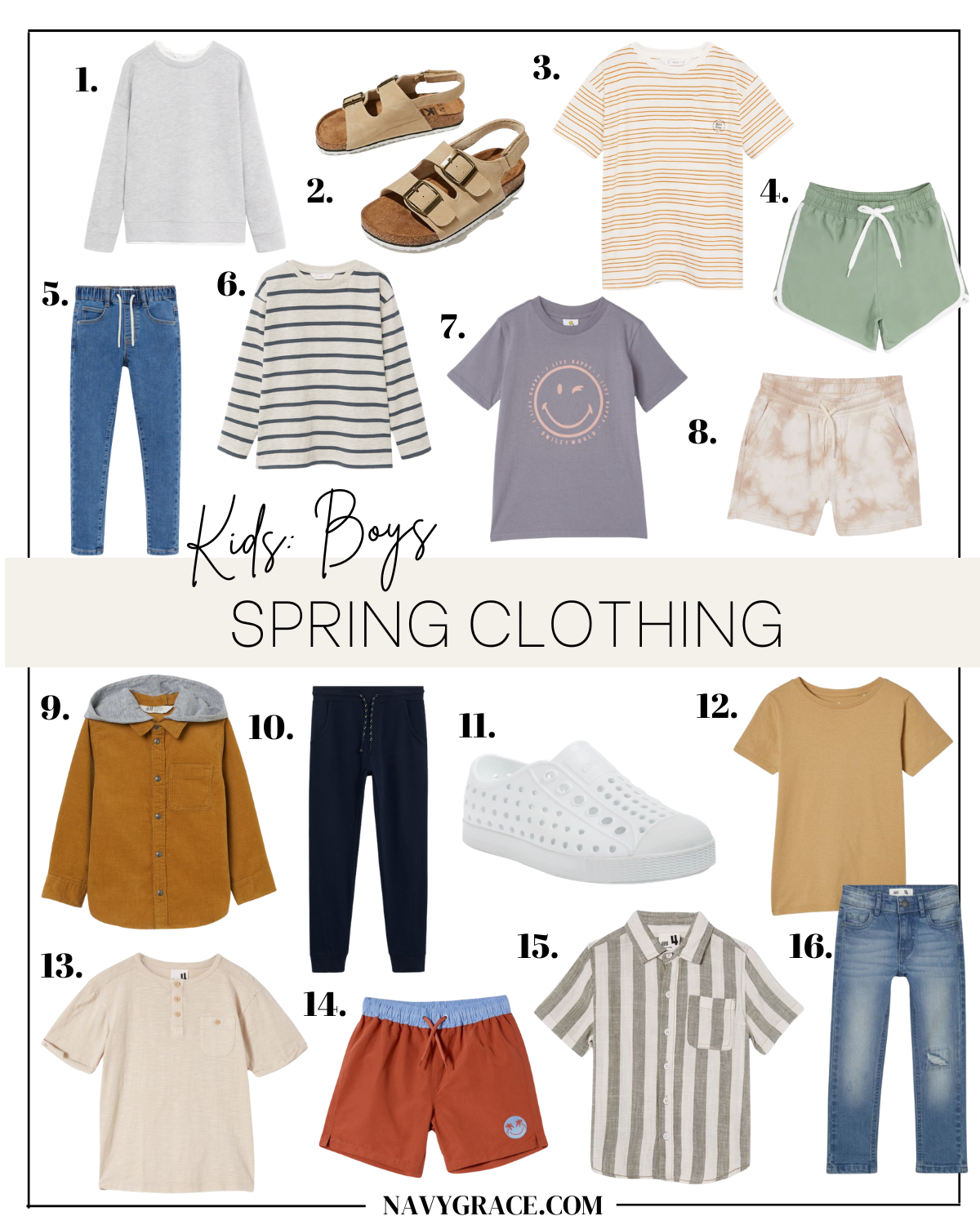 spring clothing for boys