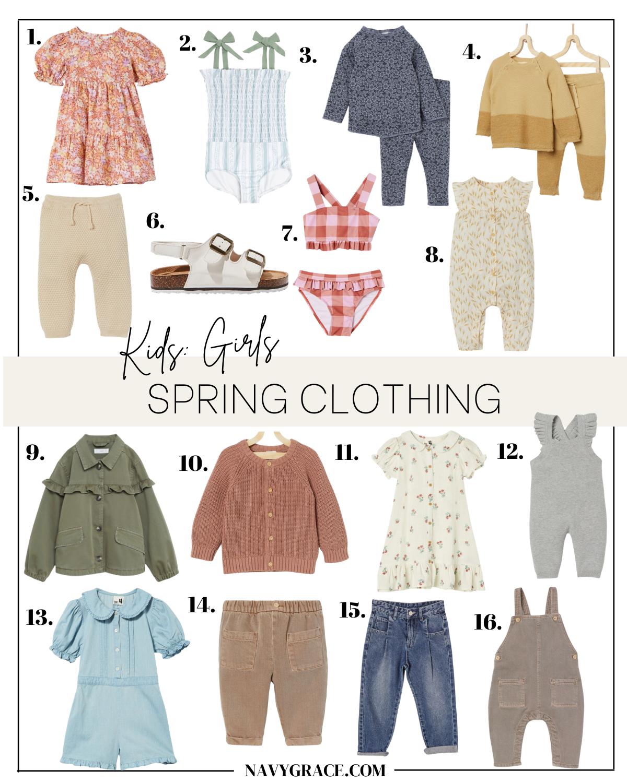 spring clothing for girls
