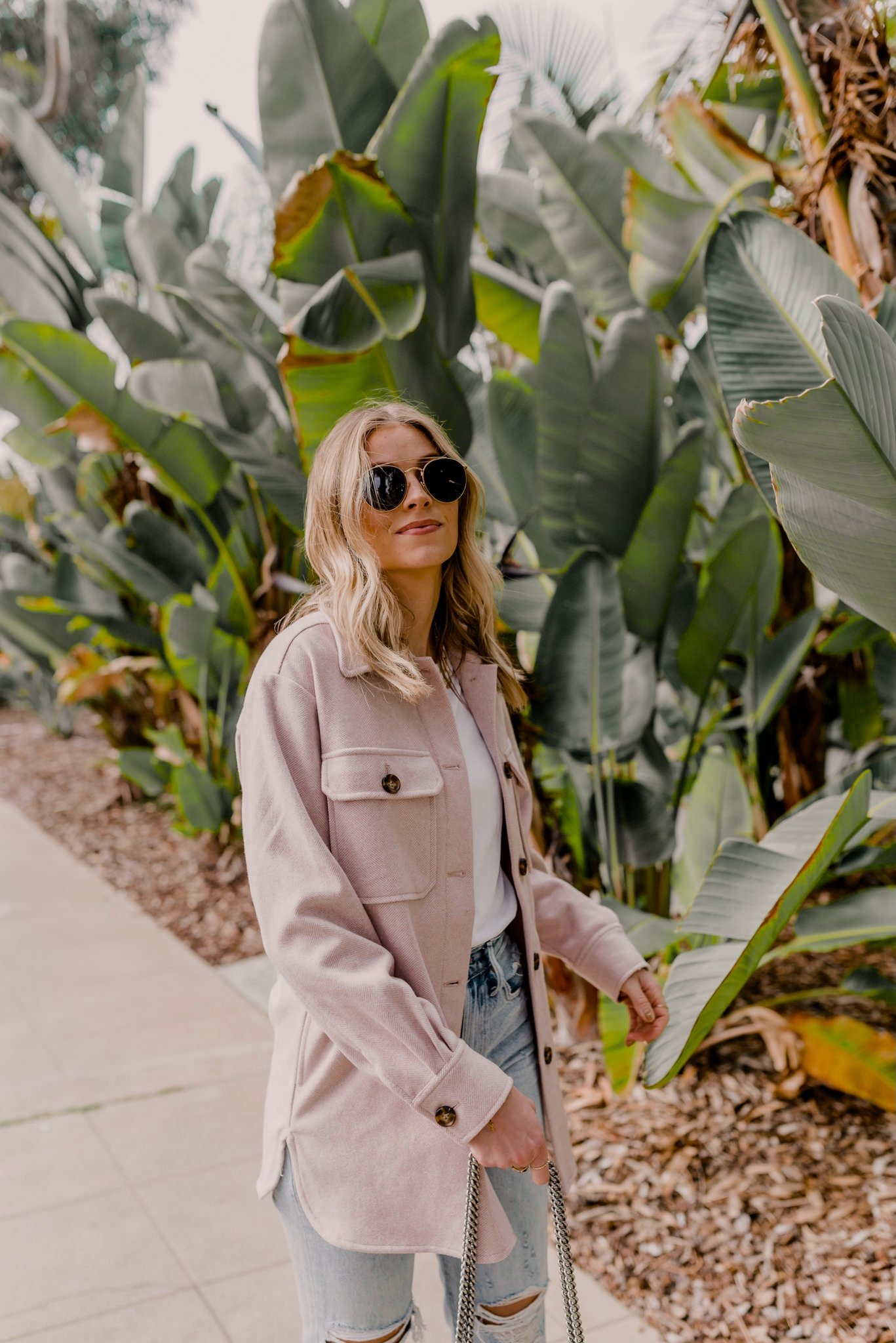 button shirt jacket outfit