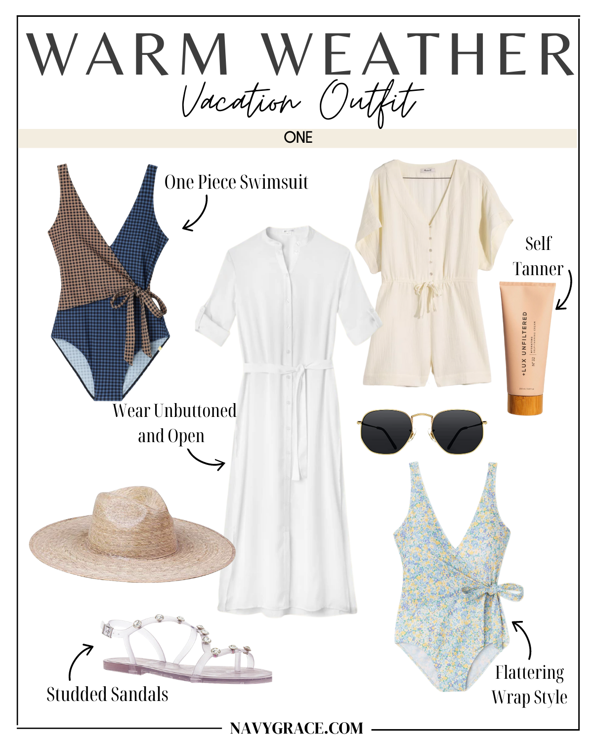 vacation outfit one