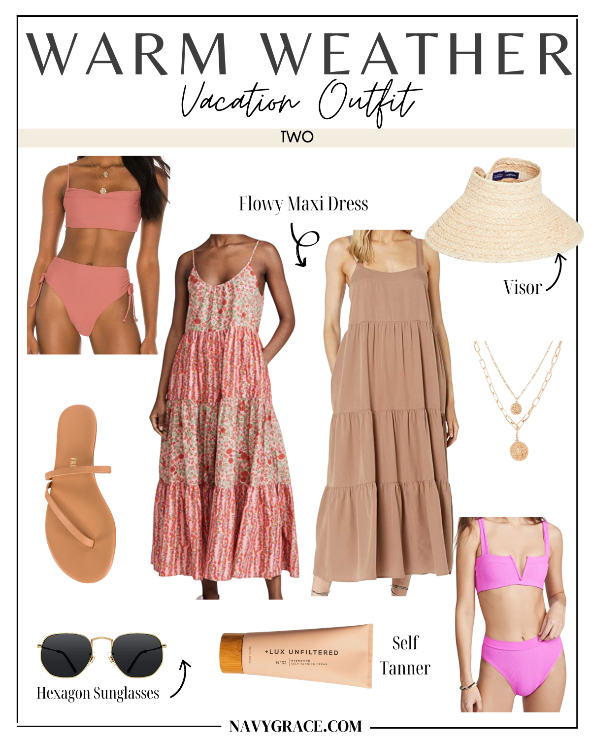 vacation outfit idea two