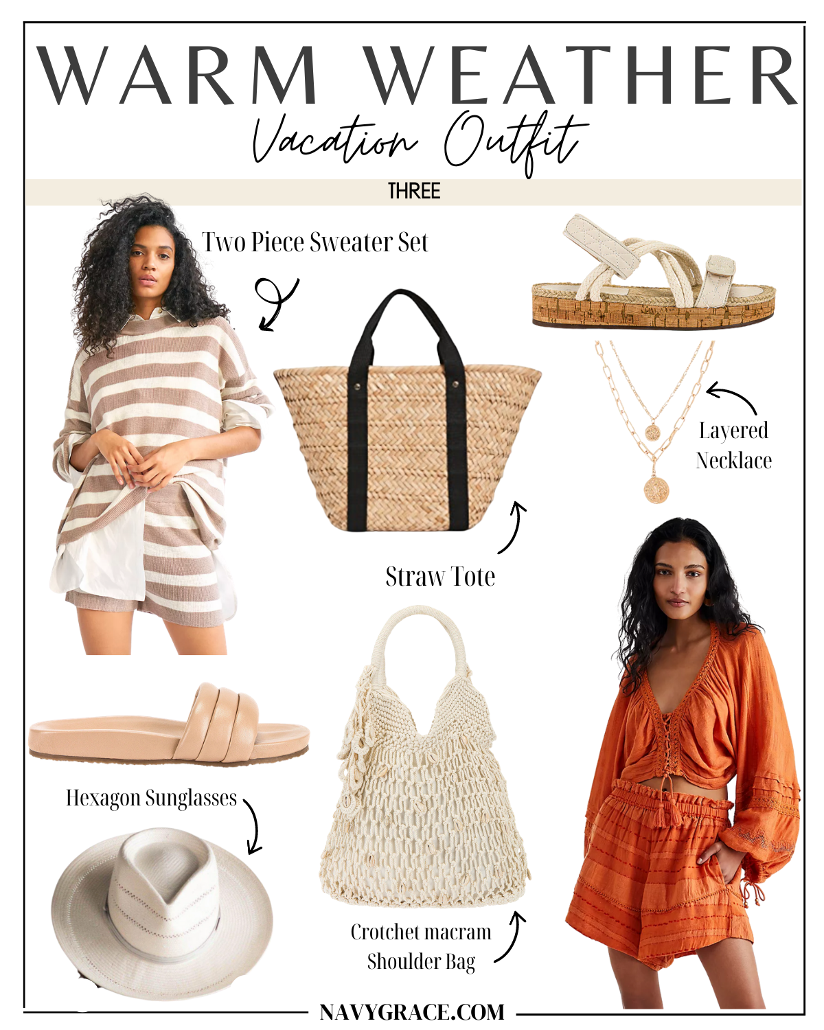 vacation outfit idea three