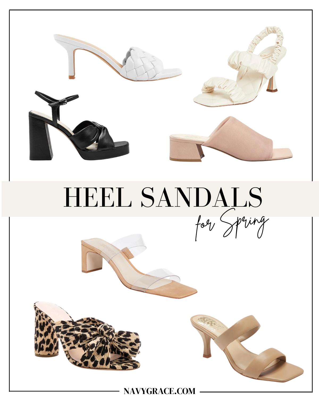 the best heel spring sandals