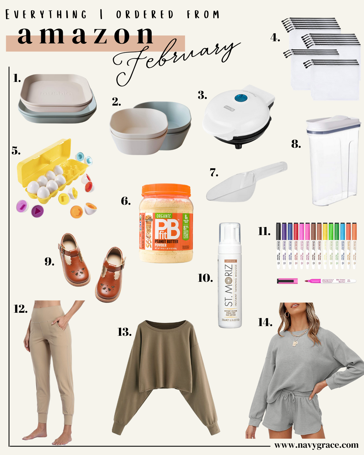 AMAZON MONTHLY FAVORITES | EVERYTHING I ORDERED FROM AMAZON IN FEBRUARY