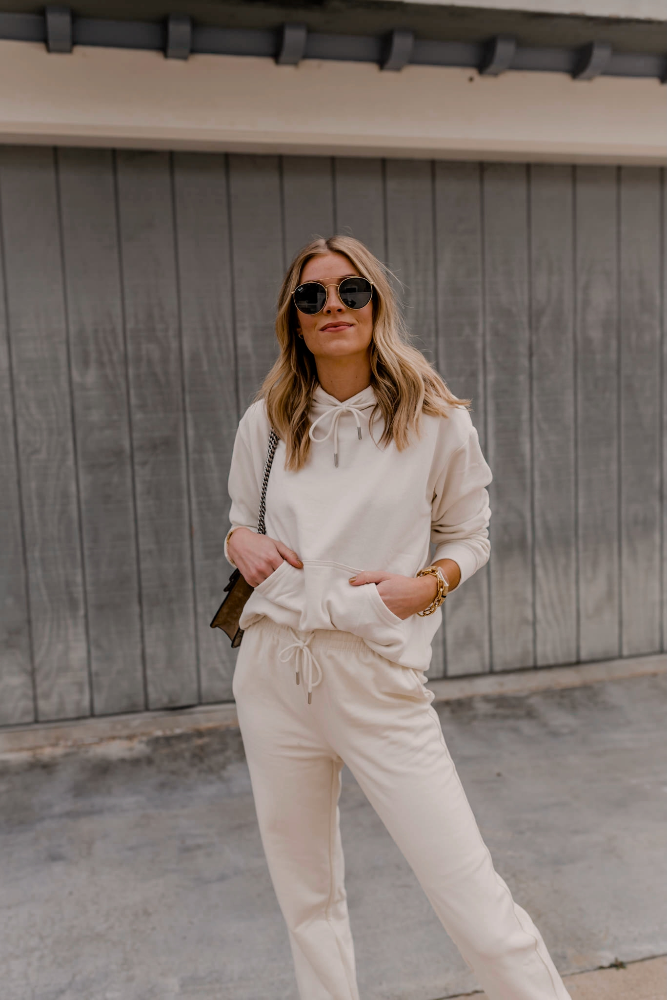 how to style a sweat set