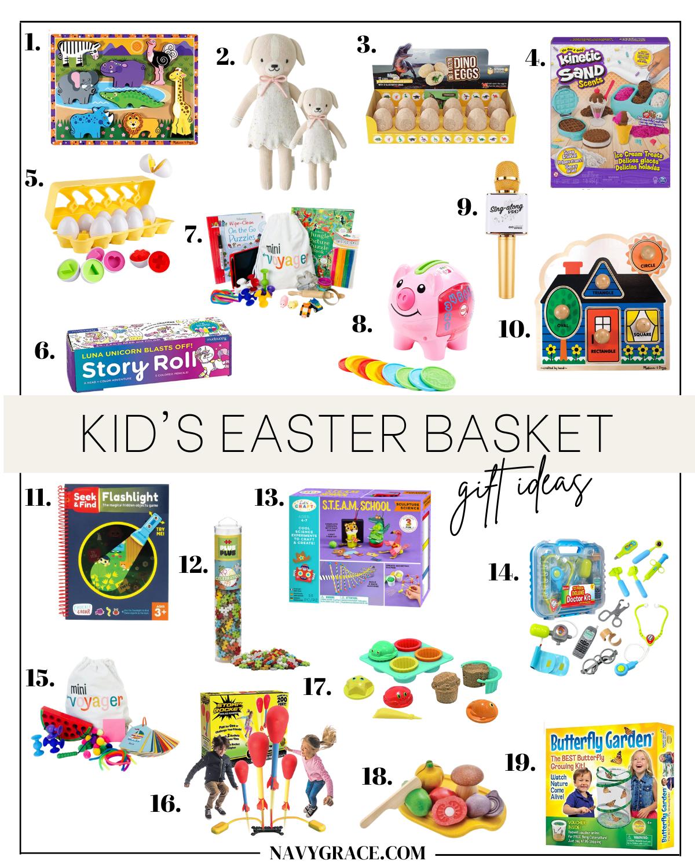 kids Easter Basket gift ideas