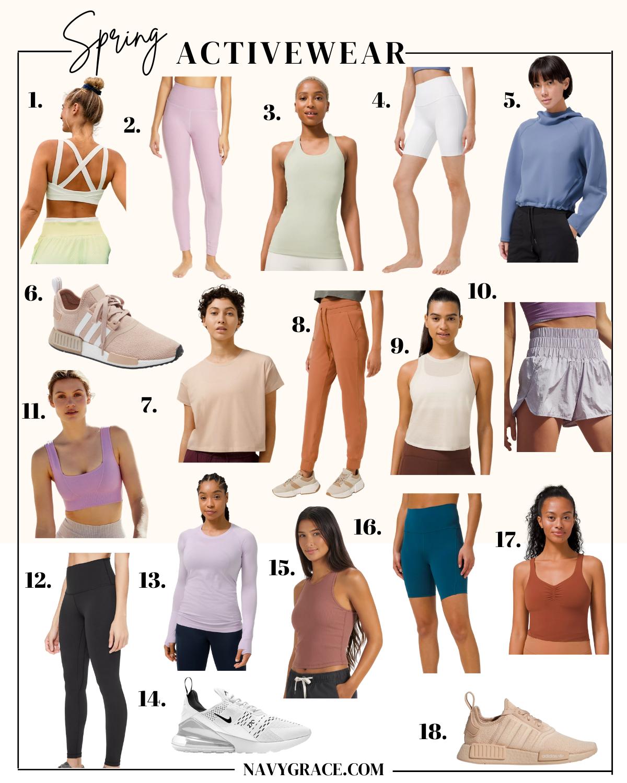 spring activewear picks