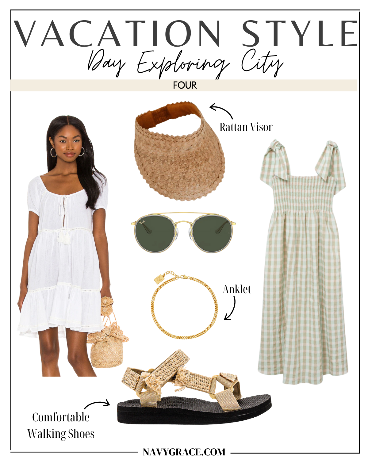 Vacation Ready Looks and outfit ideas