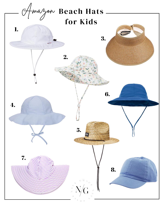 Best beach hats for kids