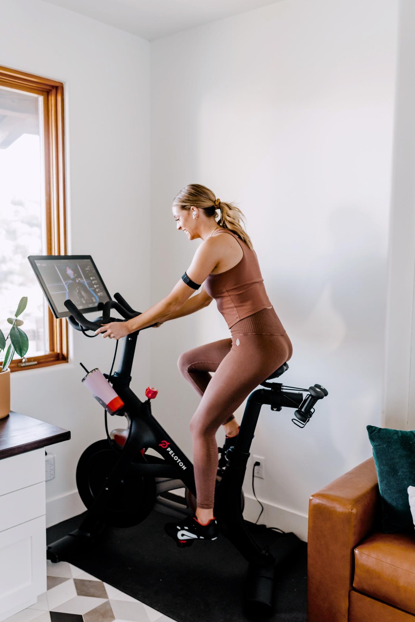 How to ride the Peloton bike