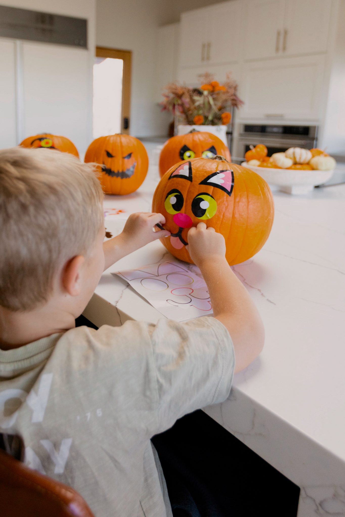 kid doing crafts fall crafts and activities for kids